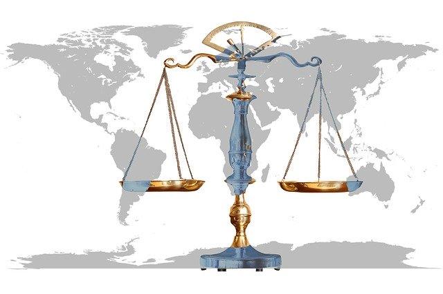 Recht Waage Justizia